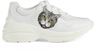 Gucci Children's Rhyton sneaker with Mystic Cat