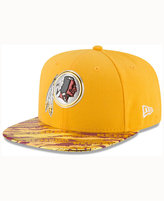 New Era Washington Redskins On-Field Color Rush 9FIFTY Cap