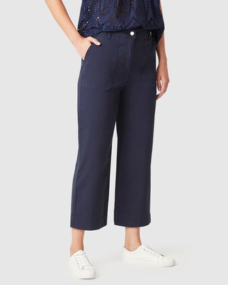 French Connection Women's Pants - Cotton Utility Pants - Size One Size, 8 at The Iconic