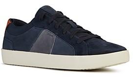 Geox Men's Warley Suede Sneakers