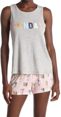 PJ Salvage Sunday Pajama Tank