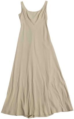 BEIGE Non Signé / Unsigned Non Signe / Unsigned Viscose Dresses