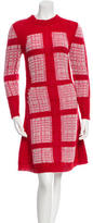 Thakoon Patterned Sweater Dress