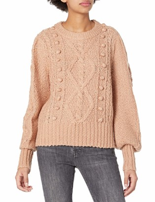 Joie Women's Long Sleeve Textured Sweater