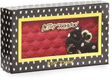 Betsey Johnson Boxed Swag Hearts Side Bow Wallet, Red