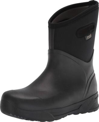 Bogs Men's Bozeman Mid Insulated Waterproof Boots Black 6