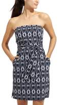 Athleta Ikat Strapless Anywhere Dress