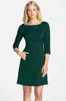 Vince Camuto Petite Women's Crepe A-Line Dress