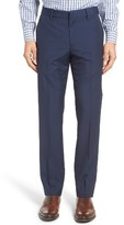 Bonobos Men's Jetsetter Flat Front Stripe Wool Trousers