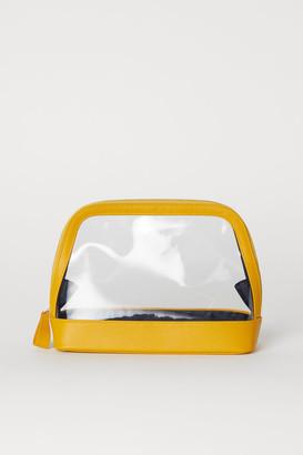 H&M Transparent Toiletry Bag - Yellow