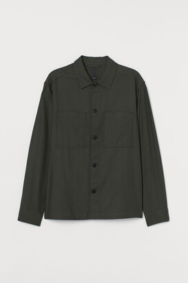 H&M Shirt Jacket Regular Fit