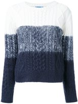 GUILD PRIME cable knit tonal jumper