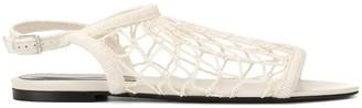 Sonia Rykiel Flat Fishnet Sandals