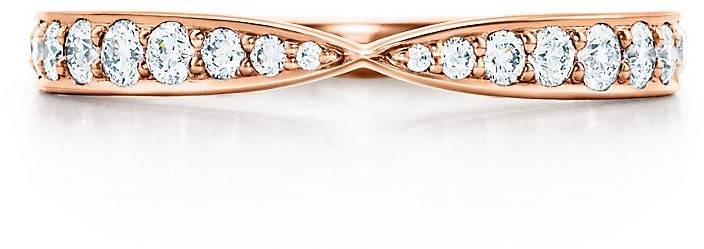 Tiffany & Co. Harmony ring in 18k rose gold with diamonds