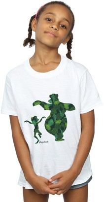 Disney Girls The Jungle Book Mowgli and Baloo Dance T-Shirt 7-8 Years White