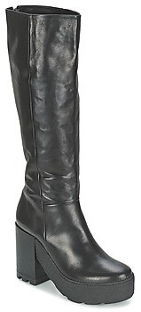 VIC CHIBERE women's High Boots in Black