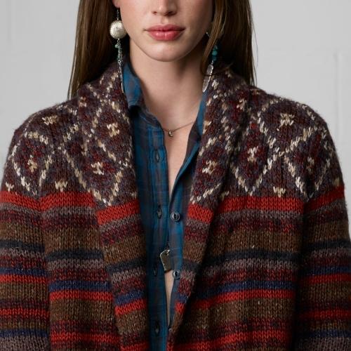 Denim & Supply Ralph Lauren Multi-Striped Cardigan