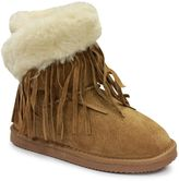 Lamo Girls' Fringe Wrap Boots