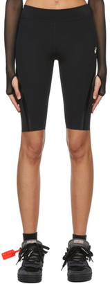Off-White Black Athleisure Cycling Shorts