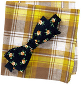Original Penguin Emery Floral Self-Tie Bow Tie & Pocket Square Set