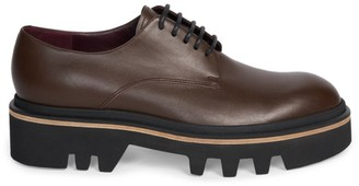 Dries Van Noten Lug-Sole Leather Oxfords