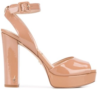 Sam Edelman Patent Heeled Sandals