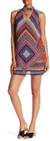 Amy Byer A. Byer Printed Gigi Dress with Necklace (Junior)