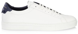 Givenchy Urban Street Knot Leather Lo-Top Sneakers