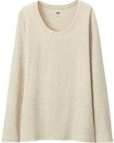 Uniqlo Women's Supima(R) Cotton Crewneck Long Sleeve T-Shirt