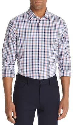Bloomingdale's The Men's Store at Four-Color Check-Print Classic Fit Shirt - 100% Exclusive