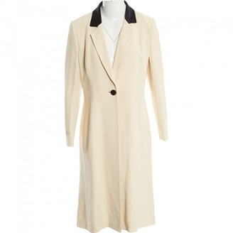 N. Bruce Oldfield \N Ecru Viscose Coats