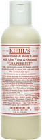 Kiehl's Kiehls Grapefruit deluxe hand and body lotion with Aloe Vera and Oatmeal 250ml
