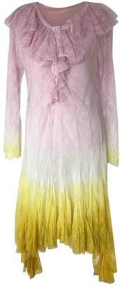 Philosophy di Lorenzo Serafini Multicolour Lace Dress for Women