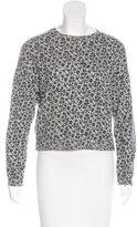 Giamba Wool Leopard Pattern Sweater