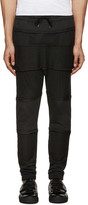 Alexandre Plokhov Black Panelled Lounge Pants