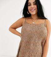 Junarose leopard print cami
