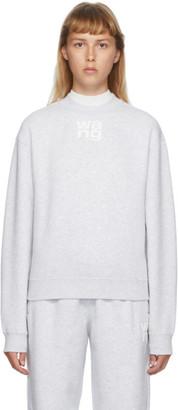 Alexander Wang Grey Foundation Sweatshirt