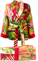 F.R.S For Restless Sleepers - floral print suit - women - Silk - L