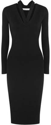Dion Lee Ribbed-knit Midi Dress