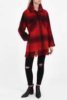 Alexander Wang Oversized Fringed Coat
