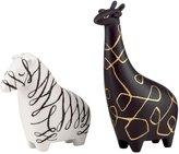 Kate Spade Woodland Park Zebra & Giraffe Figurine