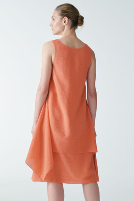Cos Plisse Cotton Dress