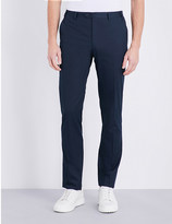 Corneliani Tailored-fit straight stretch-cotton trousers