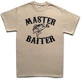 Customised Perfection Master Baiter Funny Fishing Carp Bait Rod Tackle Fly T Shirt L
