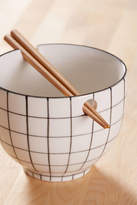 Urban Outfitters Noodle Bowl + Chopsticks Set