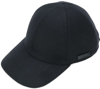 Prada Logo Patch Cap