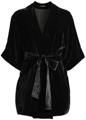 Kiki de Montparnasse Velvet Robe