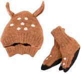 Oeuf Infants' Alpaca Hat & Mittens Set w/ Tags