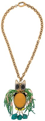 La DoubleJ Gufo grande necklace