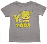 "Mighty Fine Unisex-child ""Star Wars - Y Is for Yoda"" T-Shirt- (5/6)"